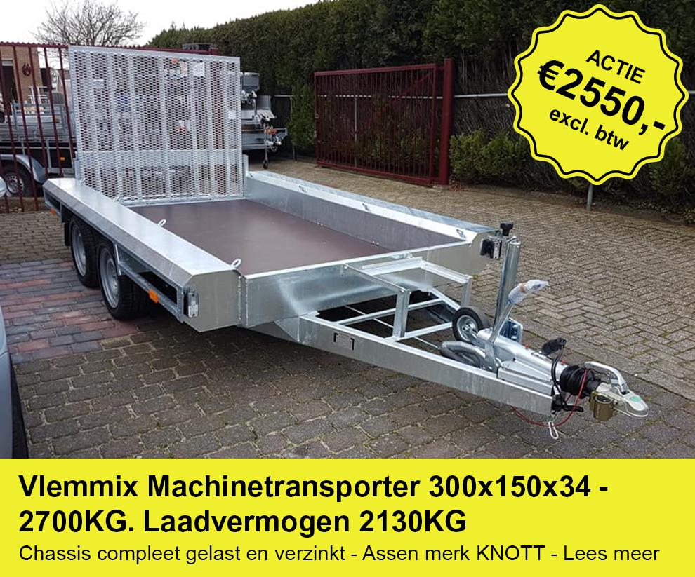 Actieplaatje-Vlemmix-machinetransporter