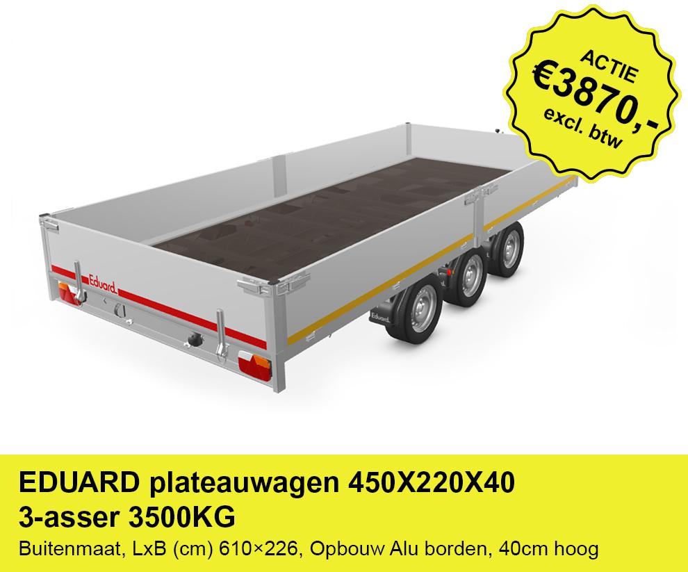 EDUARD-plateauwagen-450X220X40