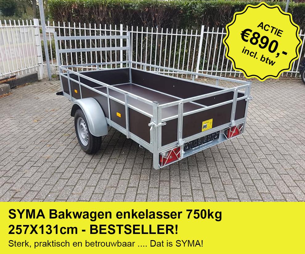 SYMA-Bakwagen-enkelasser-750kg-257X131cm