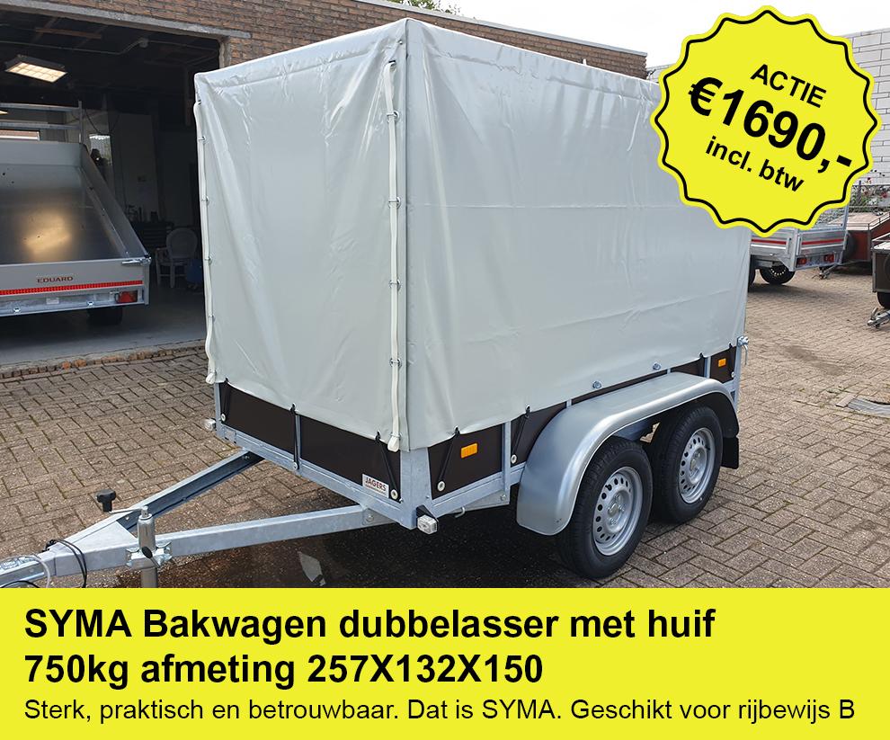 Syma-bakwagen-dubbelasser-huif-257x132x150-750kg